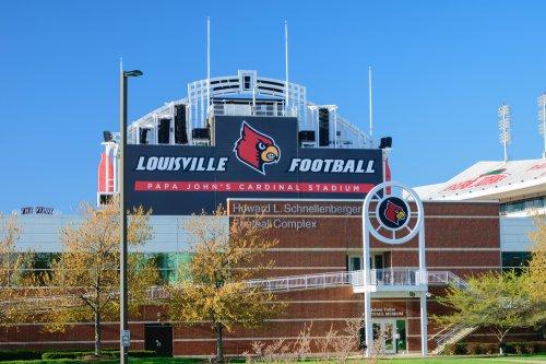 University of Louisville drops Papa John's name from stadium after slur University of Louisville drops Papa Johns name from stadium after slur