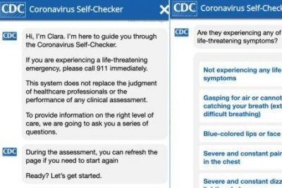 Cdc Launches Online Covid 19 Symptom Checker Upi