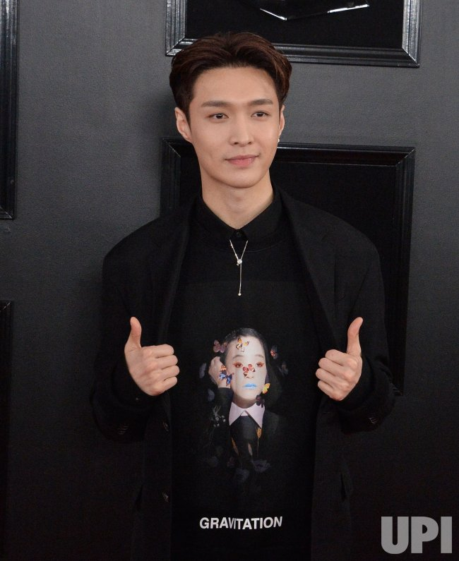 Lay Zhang arrives for the 61st Grammy Awards in Los Angeles - UPI.com