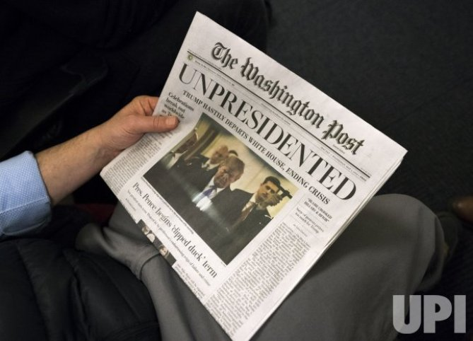 Image result for WAPO & other Papers in DC
