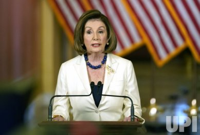 Speaker Pelosi Delivers Remarks on Trump Impeachment on Capitol Hill