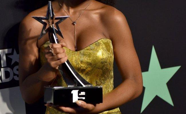 Marsai Martin Wins Award At The Bet Awards In Los Angeles