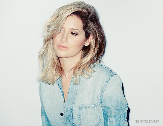 Ashley Tisdale Shows Off New Lob Hairstyle During LA