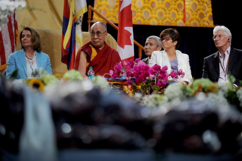 Dalai Lama celebrates birthday by meditating with Nancy Pelosi, others ...