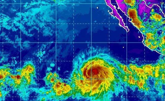 Hurricane Barbara Strengthens Into A Category 2 Storm Off