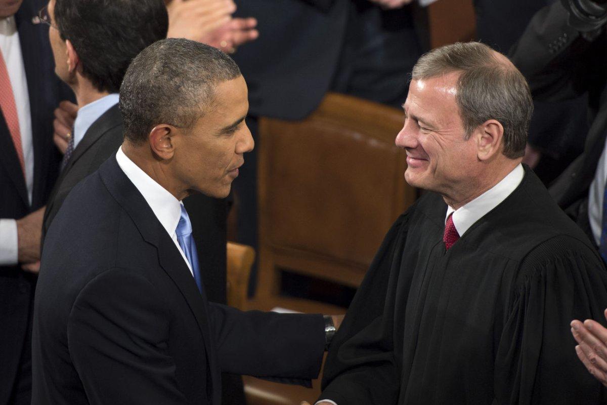 Supreme Court Justice John Roberts Uses Sign Language To