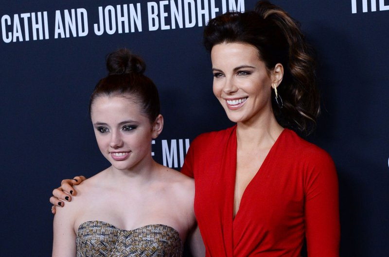 Kate Beckinsale Daughter Lily 2017