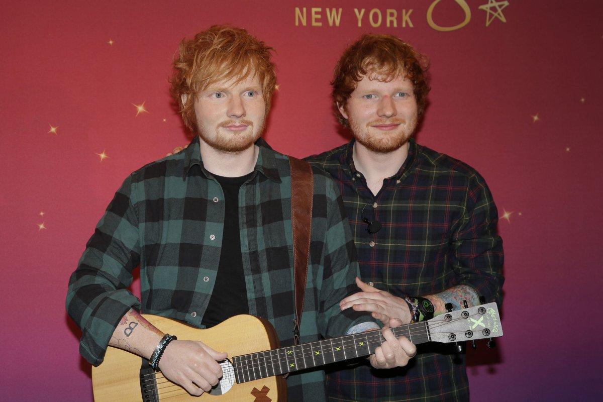 Ed Sheeran sparks marriage rumors with wedding ring  UPIcom