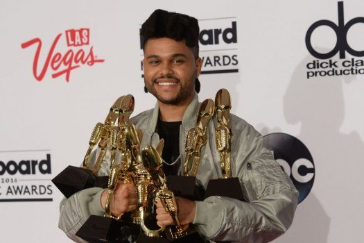 The Weeknd debuts short hair on new album cover - UPI.com