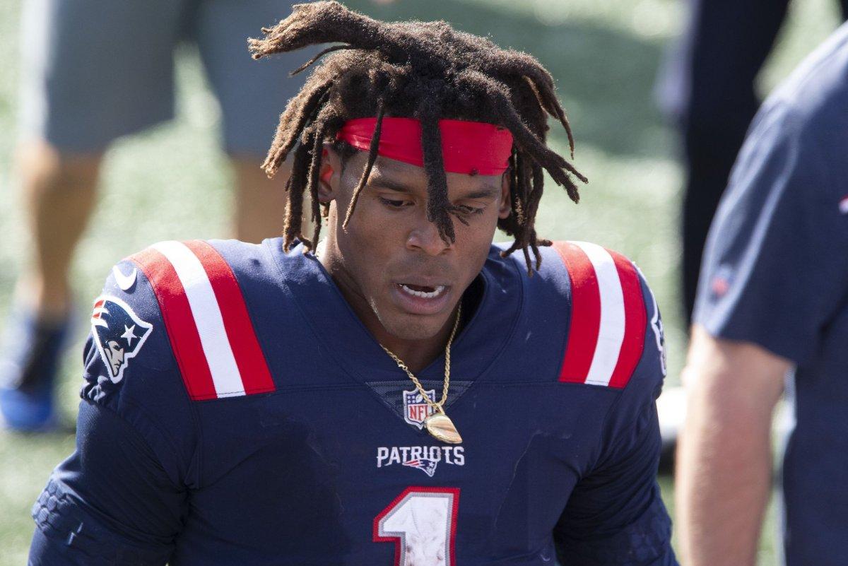 New England Patriots top Miami Dolphins in Cam Newton's debut - UPI.com