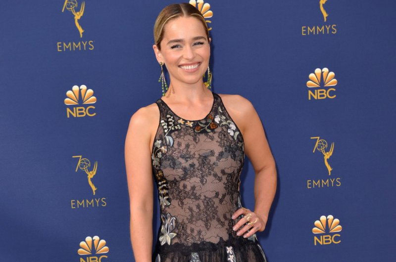 Look Emilia Clarke Gets Game Of Thrones Inspired Dragon