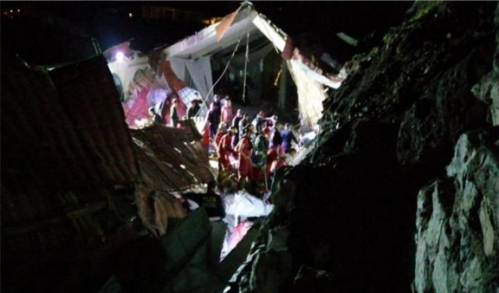 Image result for hotel collapse in peru during wedding