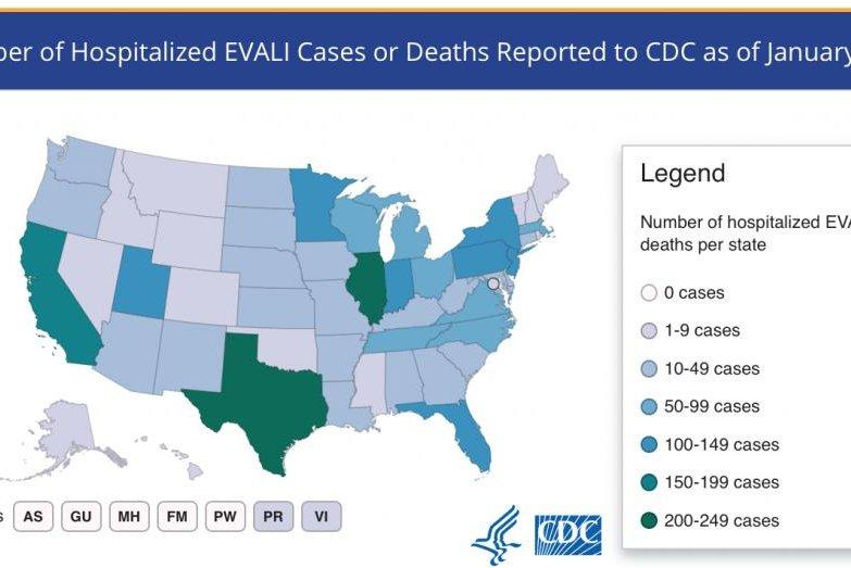 THC-linked vaping illness deaths rise again, CDC says - UPI.com