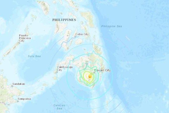 6.8 magnitude earthquake shakes southern Philippines - UPI.com