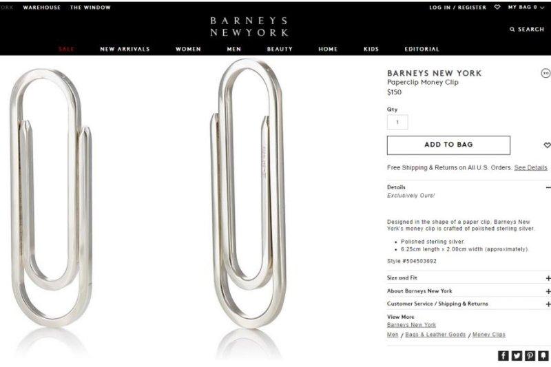 look barneys selling 185