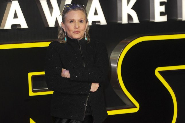 carrie fisher to appear