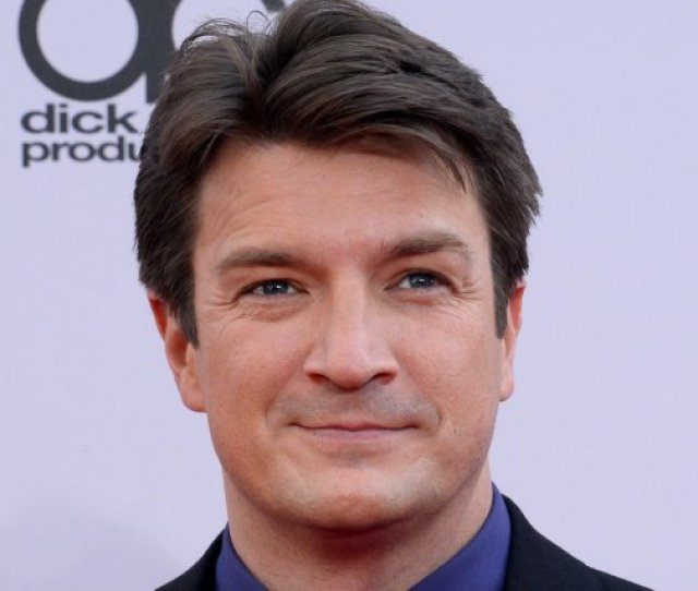 Nathan Fillion At The American Music Awards On November   File Photo By Jim Ruymen Upi License Photo