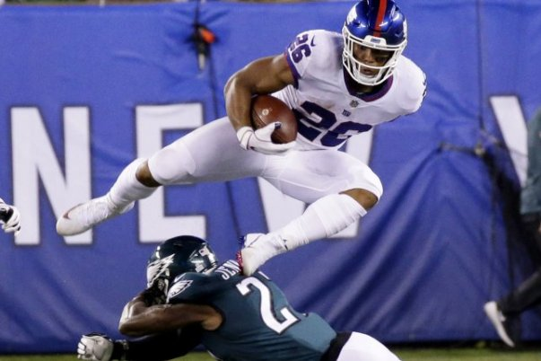 saquon barkley 2018 week 6 rookie review