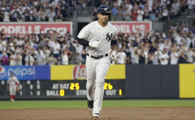 New York Yankees Press On Without Gleyber Torres Vs