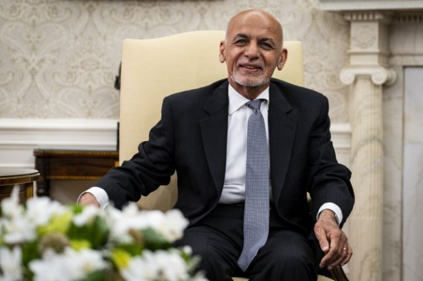 Ashraf Ghani, former president of Afghanistan, denied allegations Wednesday that he fled his country mid-August with millions of dollars. File Pool Photo by Pete Marovich/UPI