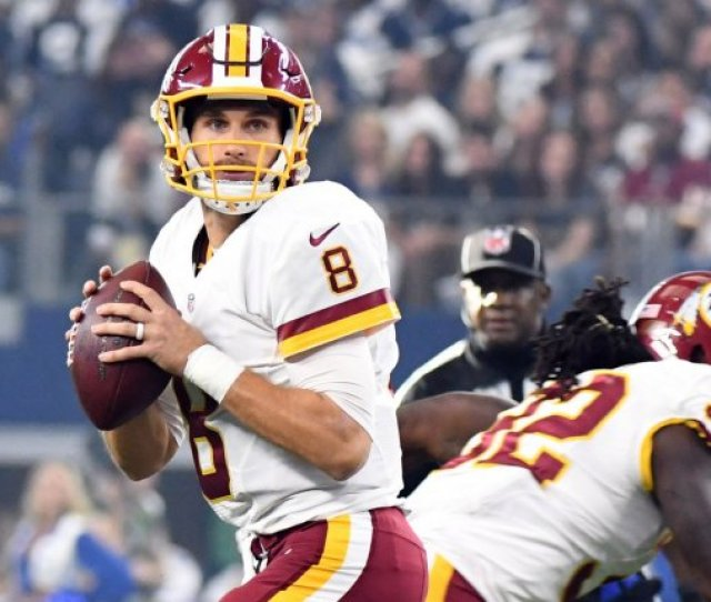 Washington Redskins Qb Kirk Cousins Looks To Throw Against The Dallas Cowboys During The First Half Of Their Game At Att Stadium On November