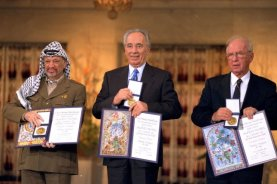 On This Day, Oct. 14: Rabin, Peres, Arafat share Nobel Peace Prize - UPI.com