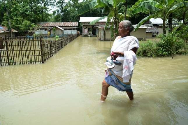 Torrential rain produces severe flooding in India, strands over ...