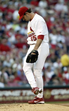 Image result for matt morris pitching for cardinals