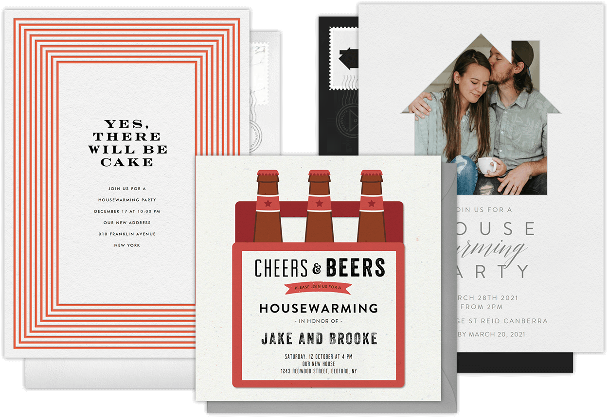 online housewarming party invitations