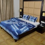 Buy Trade Star Exports Indigo Tie Dye Duvet Cover Set Shibori Doona Cover Bohemian Cotton Throw Indian Quilt Cover With Pillow Cover Online Shop Home And Garden On Carrefour Uae