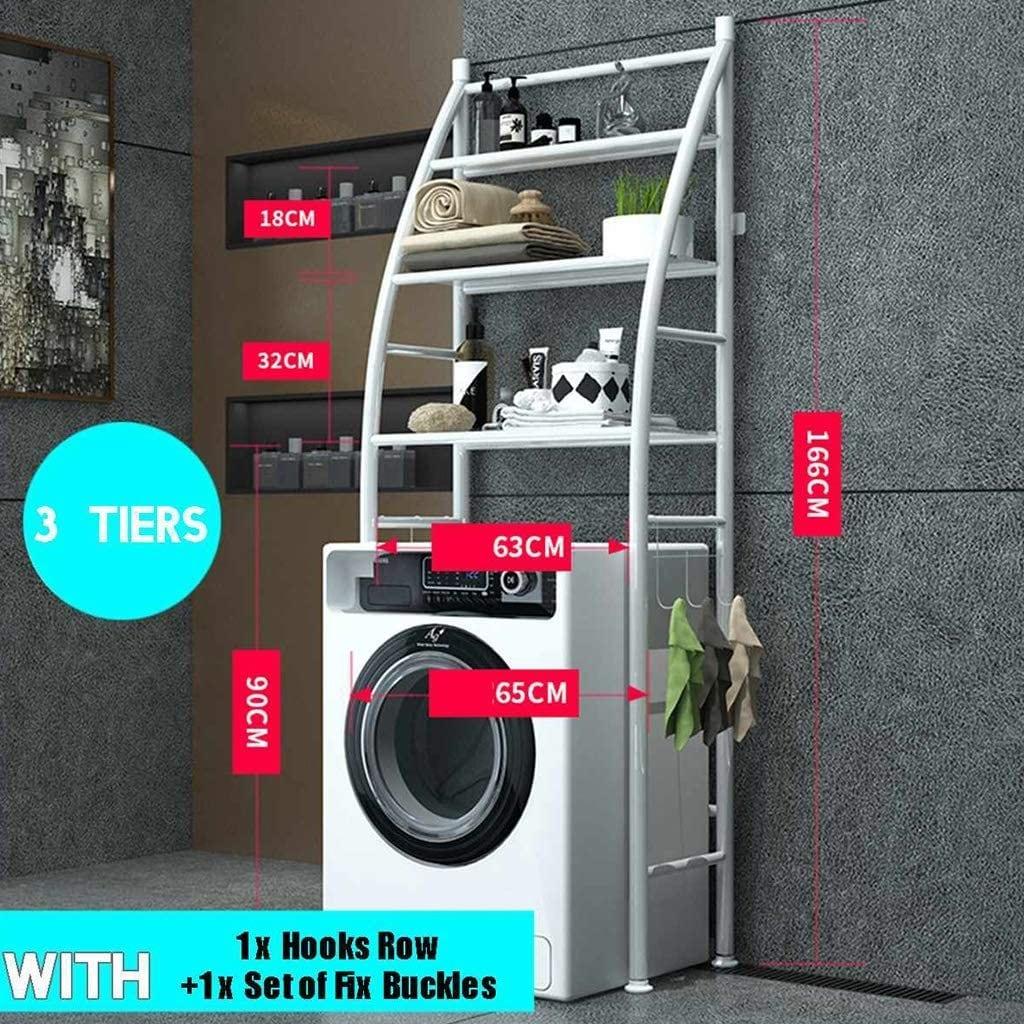 buy nusense stainless steel shelf bathroom space saver 3 tier toilet towel storage rack holder over the bathroom toilet shelf organizer online shop