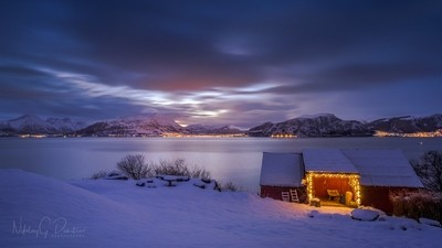Christmas time at Nøringset, Norway. Best wishes for a very Merry Christmas to everyone! by theoherbots