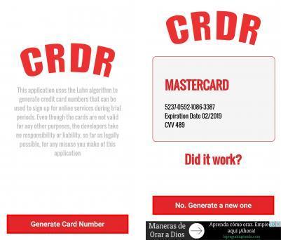 Credit Card Wizard V1.1 Generator