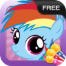 Little Pony Coloring Game app apk icon