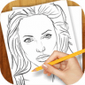 Drawing Lessons Celebrities app apk icon