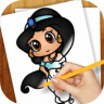 Drawing Lessons Chibi Anime app apk icon