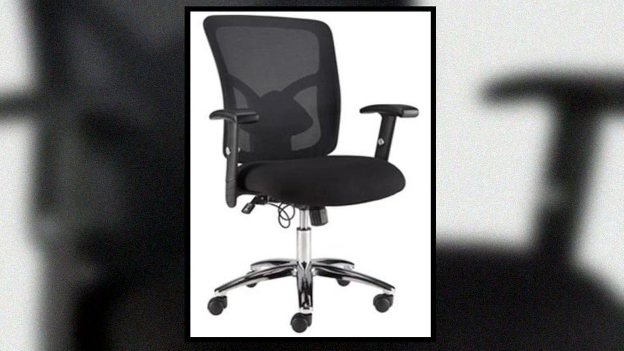 staples office chairs plus size dining recalls made by quill hazen due to legs on