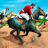 download Mounted Horse Racing Games: Derby Horse Simulator apk