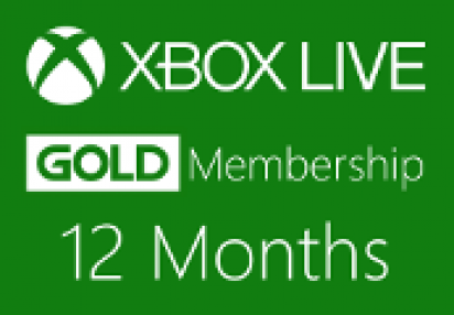 XBOX Live 12 Month Gold Subscription Card Buy On Kinguin