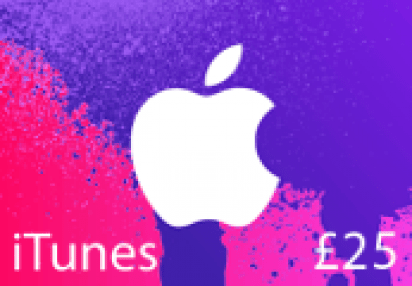 ITunes 25 UK Card Buy On Kinguin