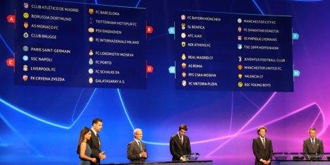 Pembagian Grup UCL 2018/19