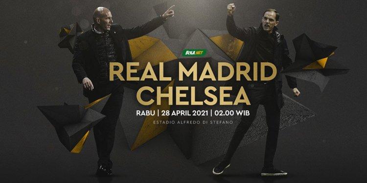 Real Madrid vs Chelsea: Tiga Perkara di Pertemuan Pertama ...