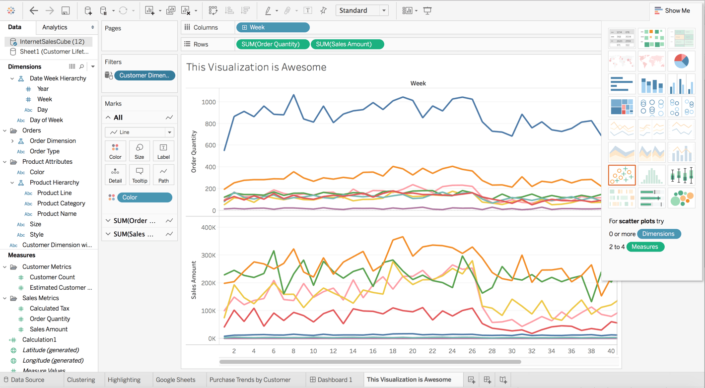 With Tableau 10 Exploring Big Data Just Got Even Easier