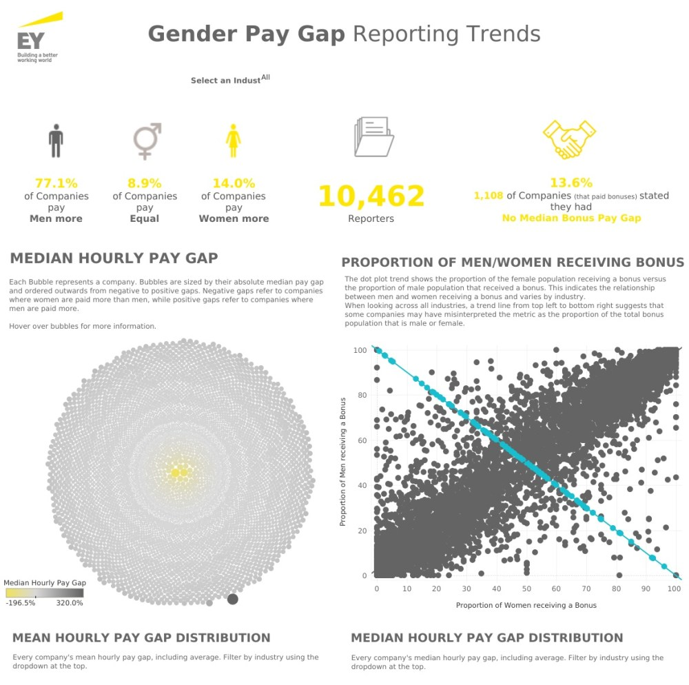 medium resolution of these dashboards help their audience explore the uk gender pay gap a distinctive and valuable experience that also gives ey an authoritative voice on gender