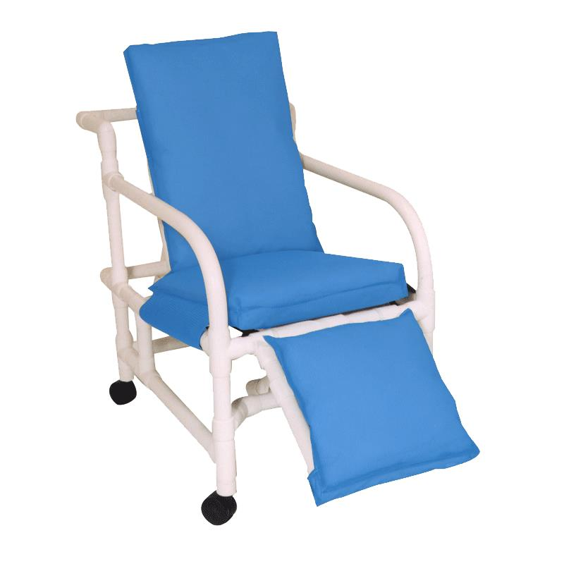 invacare clinical recliner geri chair rocking slipcovers mjm international echo three position reclining