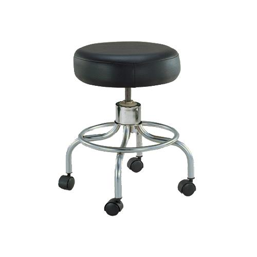 adjustable height chairs massage chair portable drive revolving stool with round footrest medical stools