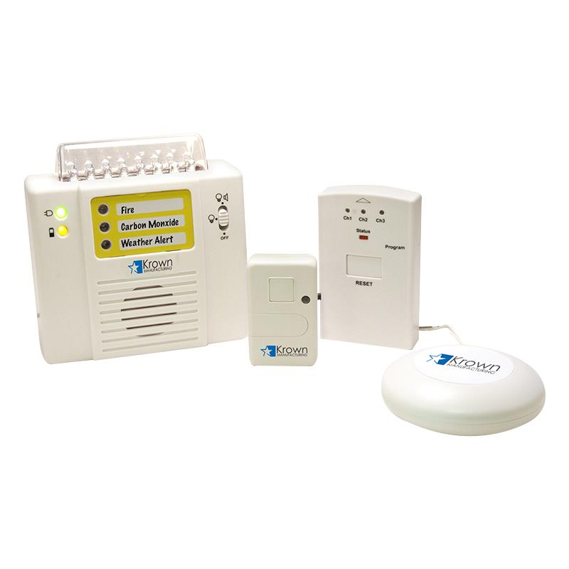 Monitored Wireless Alarm System