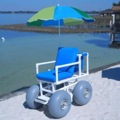 Zero Gravity Chair Cord Helinox Ground Healthline Medical All Terrain Beach Wheelchair | Wheeleez-4