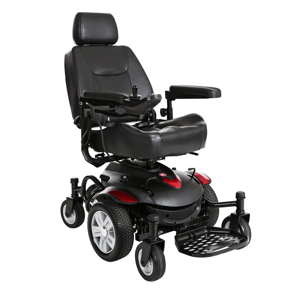 Drive Titan AXS MidWheel Drive Powerchair  Travel