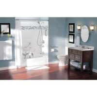 Moen Grab Bar With Integrated Toilet Paper Holder | Grab ...